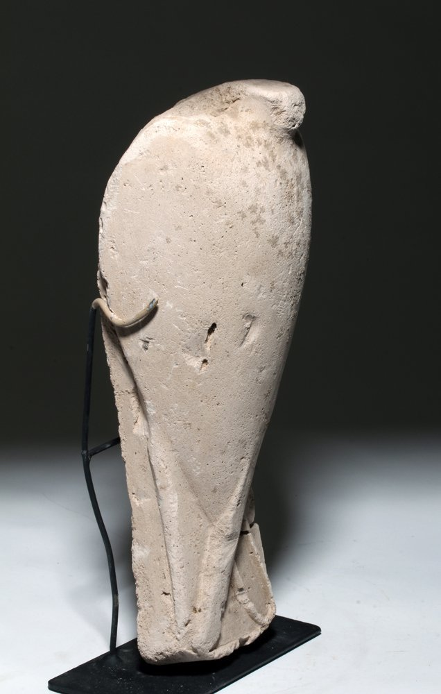 Egyptian Plaster Sculptor's Model of a Falcon