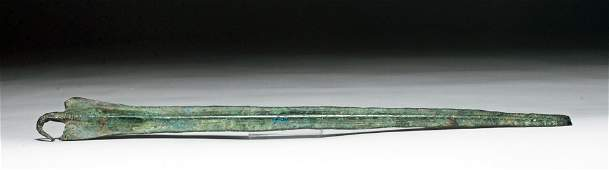 Iranian Bronze Spearhead, ex-Piscopo