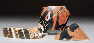 Greek Apulian Red Figure Fragments