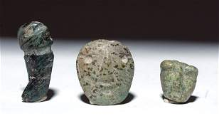 Three Mezcala Stone Objects