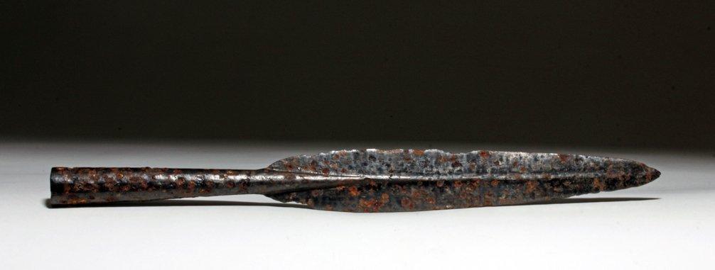 Rare Celtic Iron Spear Head, ex-Piscopo
