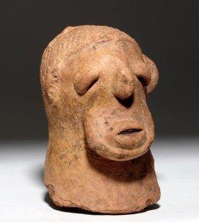 Expressive Katsina Terracotta Head, Ex-arnovick