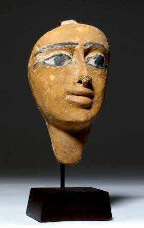 Egyptian Cartonnage Sarcophagus Mask