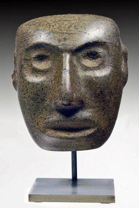 Teotihuacan Diorite Stone Mask