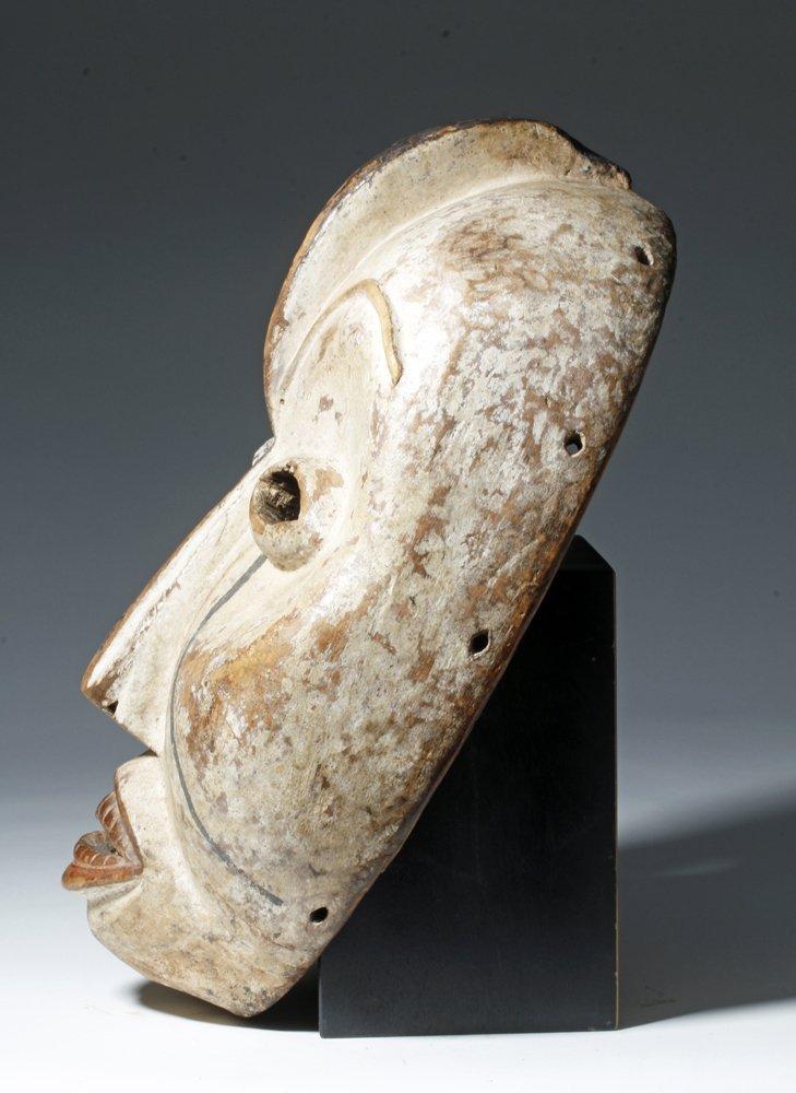 Important African Woyo Painted Wood Mask - Ndunga - 2