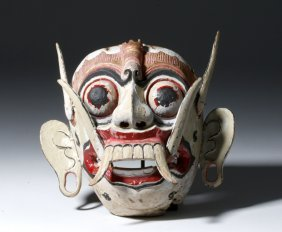 South East Asian Naga Sanniya Mask