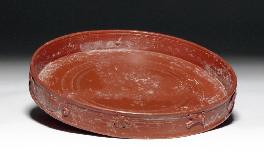 Roman Arretine Terra Sigillata Plate, ex-Guttman