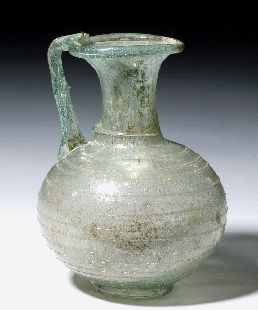 Fine Roman Glass Pouring Vessel