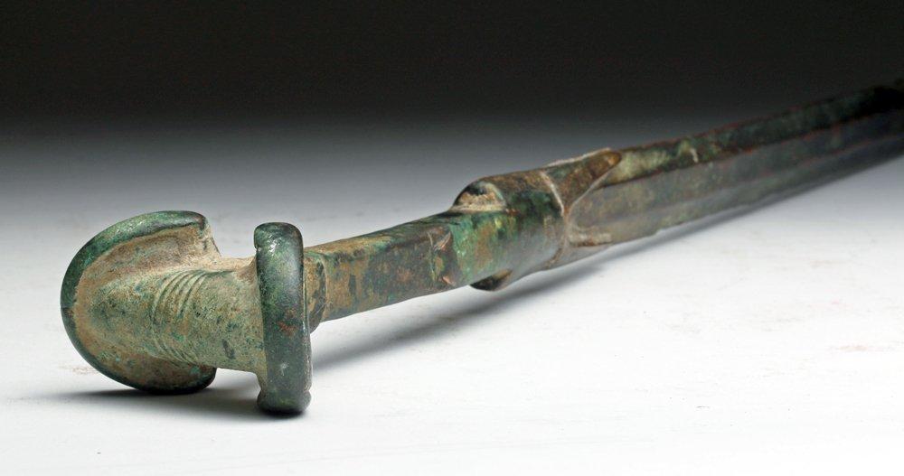"""Long/Fine Ancient Luristan Battle Sword - 32"""" Long!"""