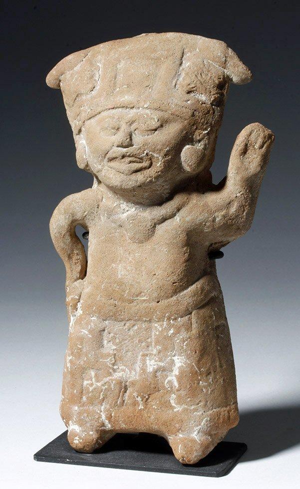 Veracruz Pottery Standing Sonriente Whistle