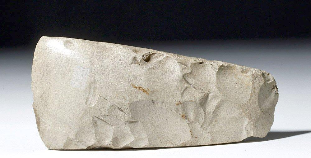 Prehistoric Danish Thick Butted Chert Axe