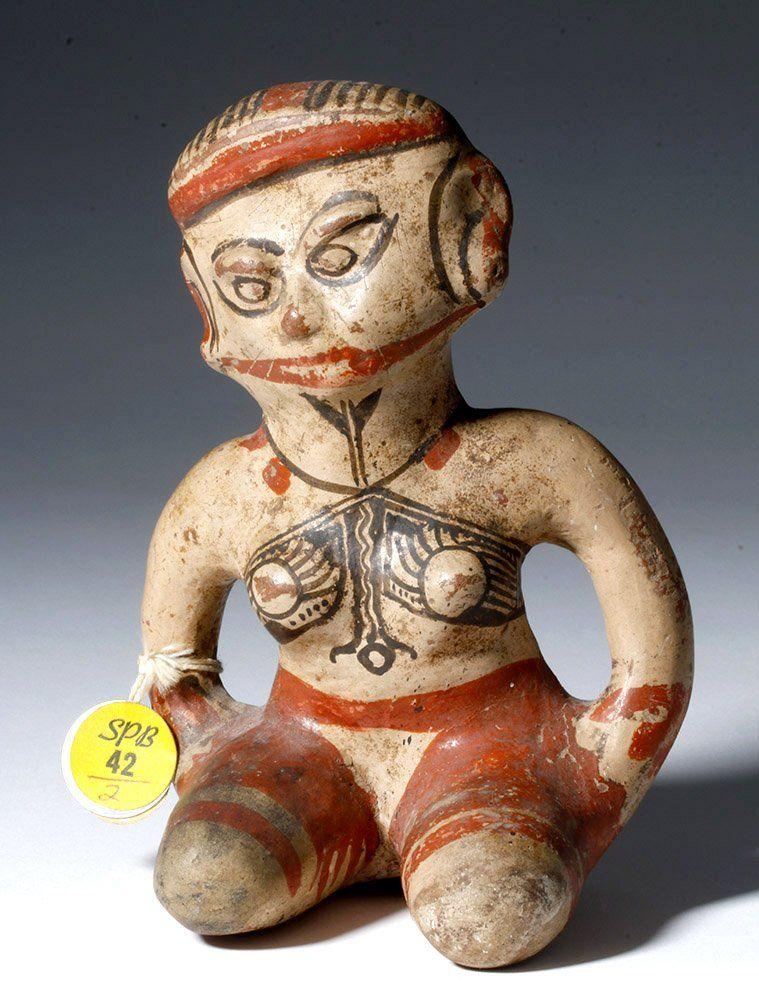 Published Nicoya Polychrome Figure, ex-Sotheby PB