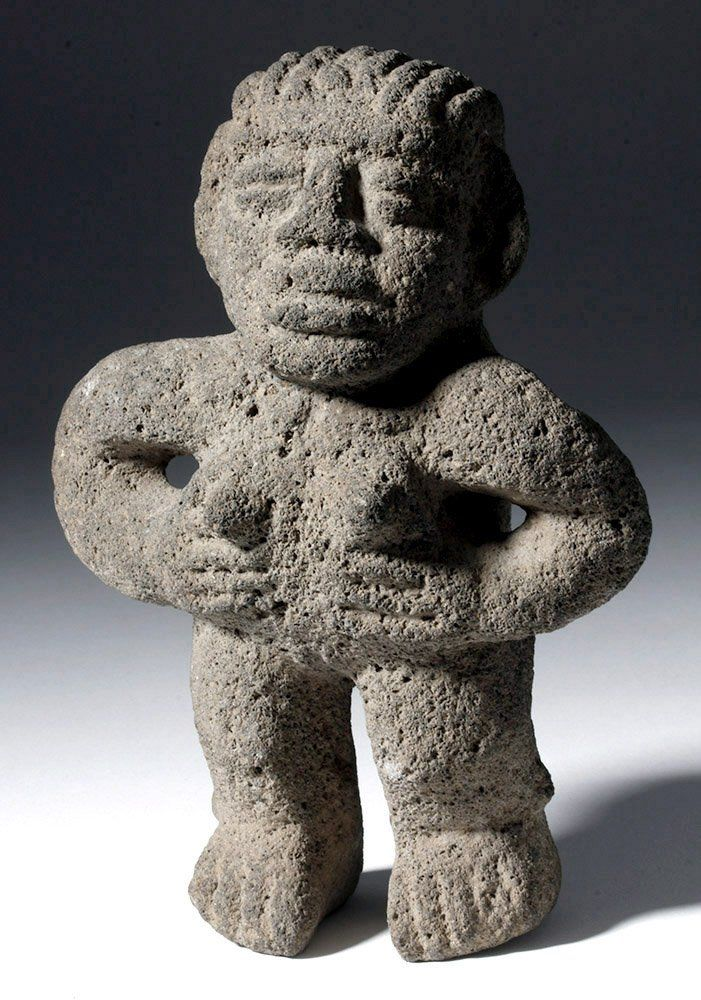 Costa Rican Stone Standing Female, ex-Sotheby PB