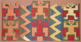 Nazca Figural Textile Panel
