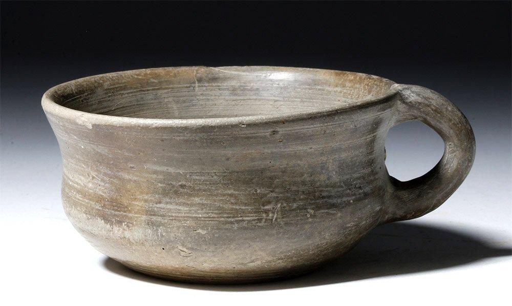 Etruscan Bucchero Pottery Cup - Very Modern Form