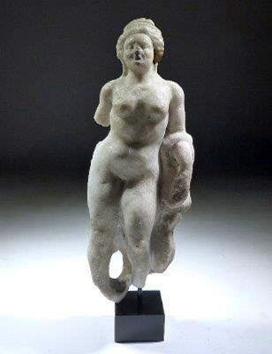 Roman Carved Marble Statue of Venus