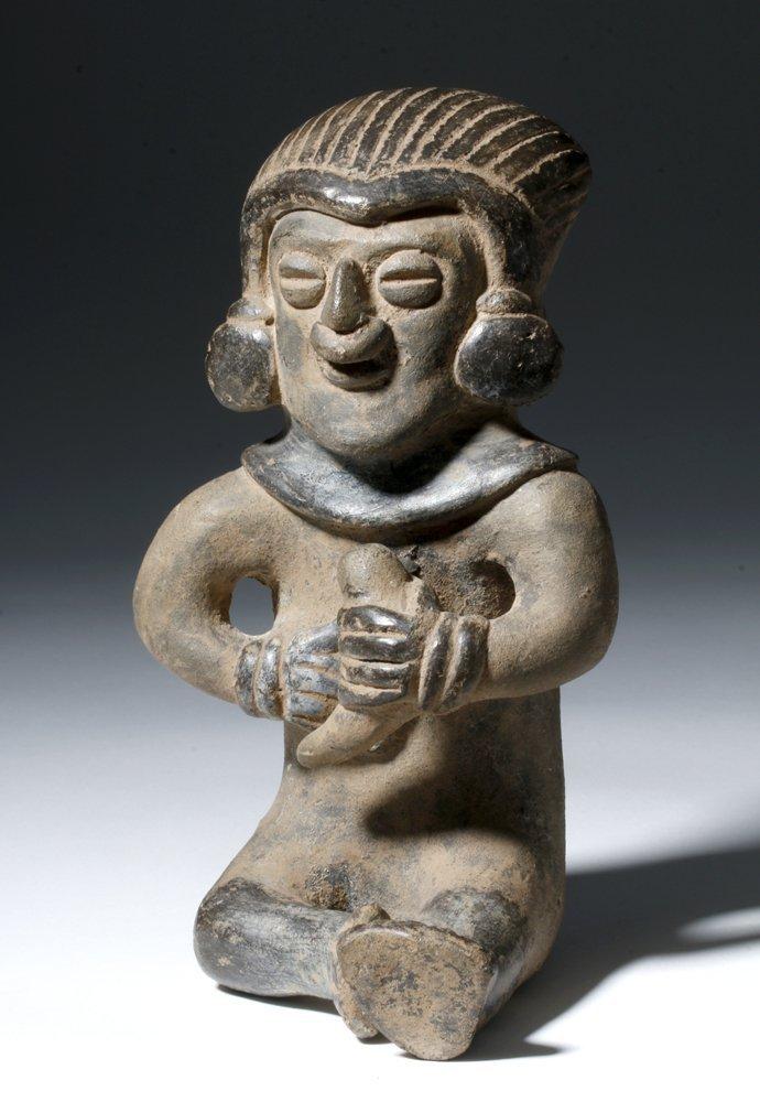 Manabi Manteno Pottery Shaman Effigy