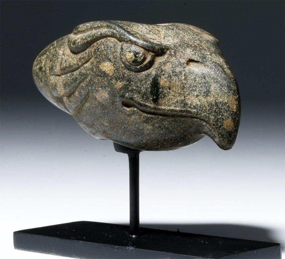 Important Costa Rican Greenstone Mace Head