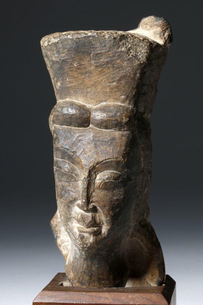 Chinese Wei Stone Head, Longmen Caves, ex-Parke Bernet
