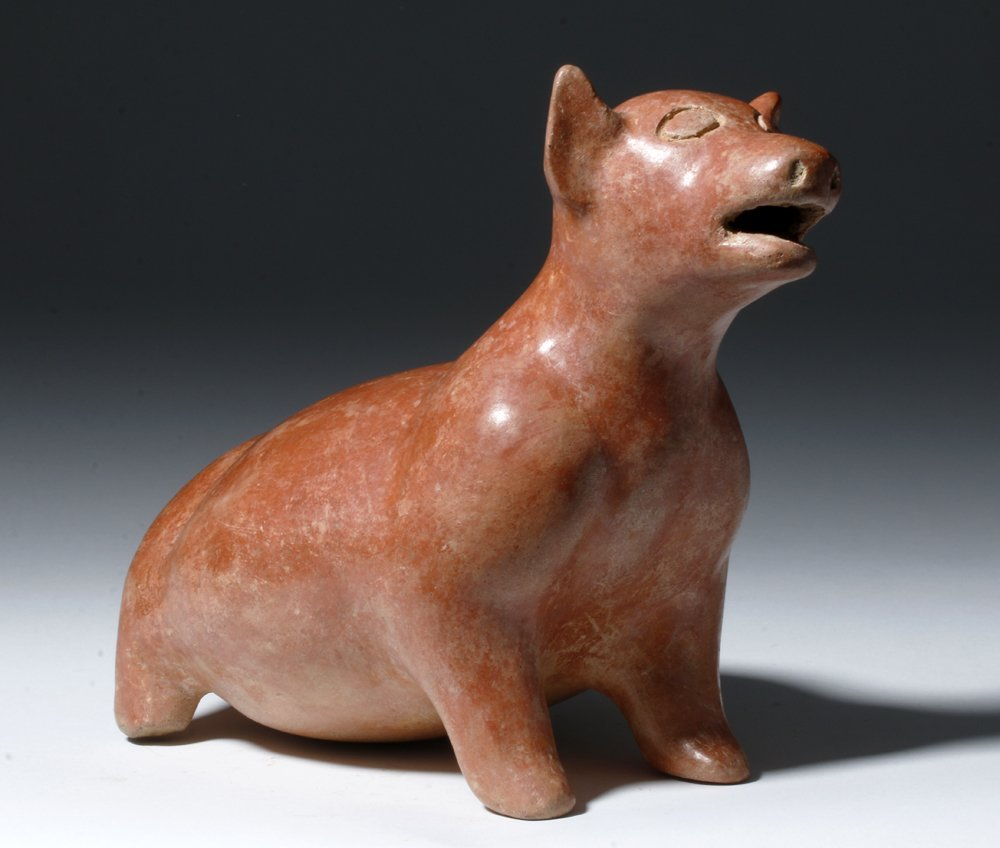Adorable Plump Colima Pottery Puppy