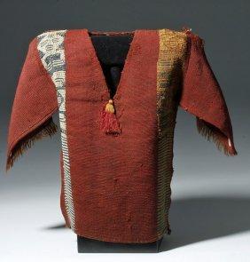 Adorable Chancay Child's Textile Tunic