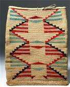 19th C. Native American Corn Husk Bag - Nez Perce