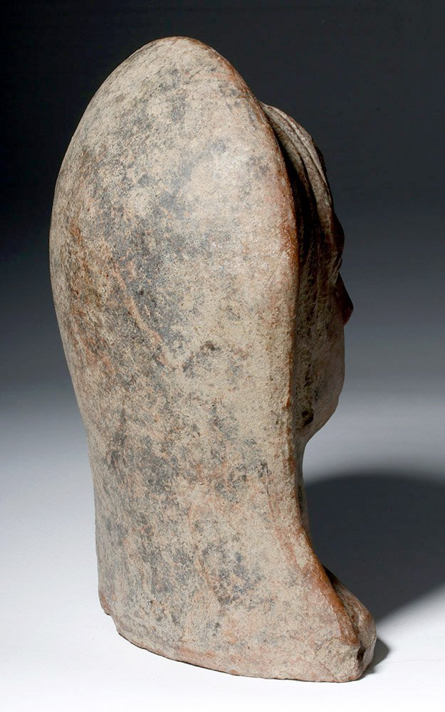 Very Fine Etruscan Pottery Votive of Youth - 3