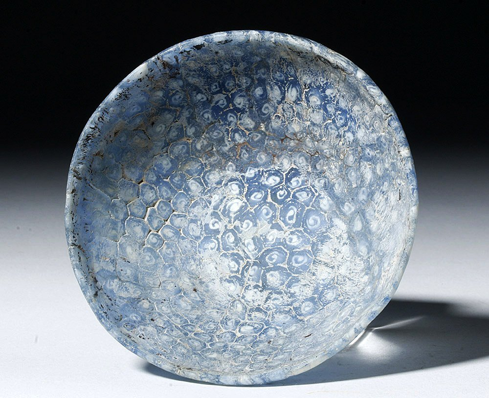 Rare Roman Mosaic (Millefiori) Glass Bowl - 4
