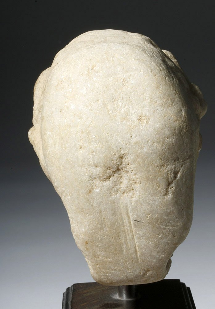 Adorable Roman Marble Head of a Child, ex-Arnovick - 7