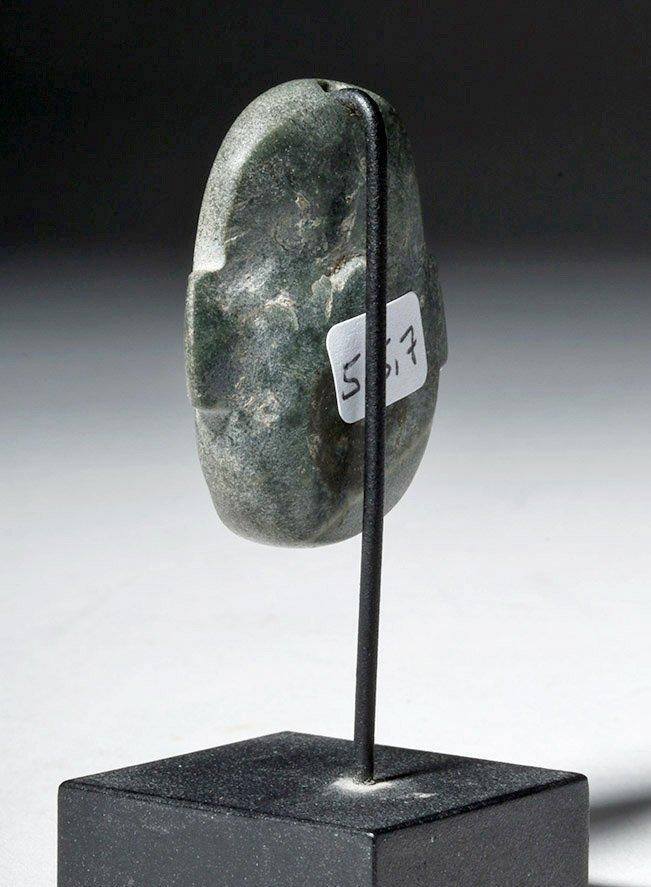Near-Miniature Colima Greenstone Maskette, ex-Arnovick - 5