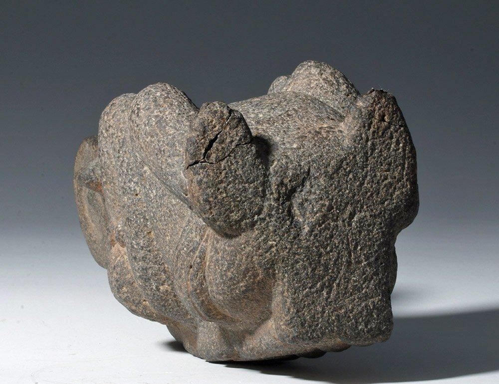 Superb Mayan Carved Basalt Monkey Sculpture - 6