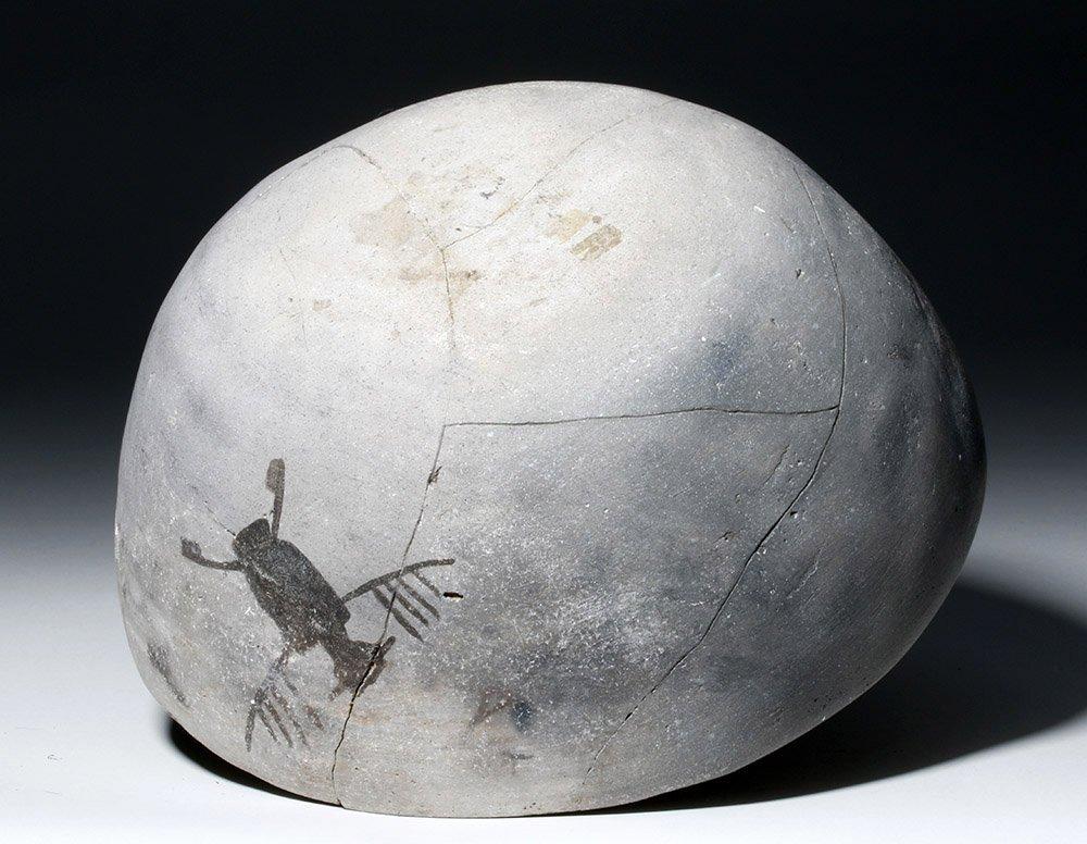 Anasazi Mogollon Springerville Black-on-White Bowl - 7