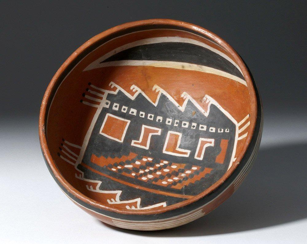 Anasazi Fourmile Polychrome Bowl w/ Insect