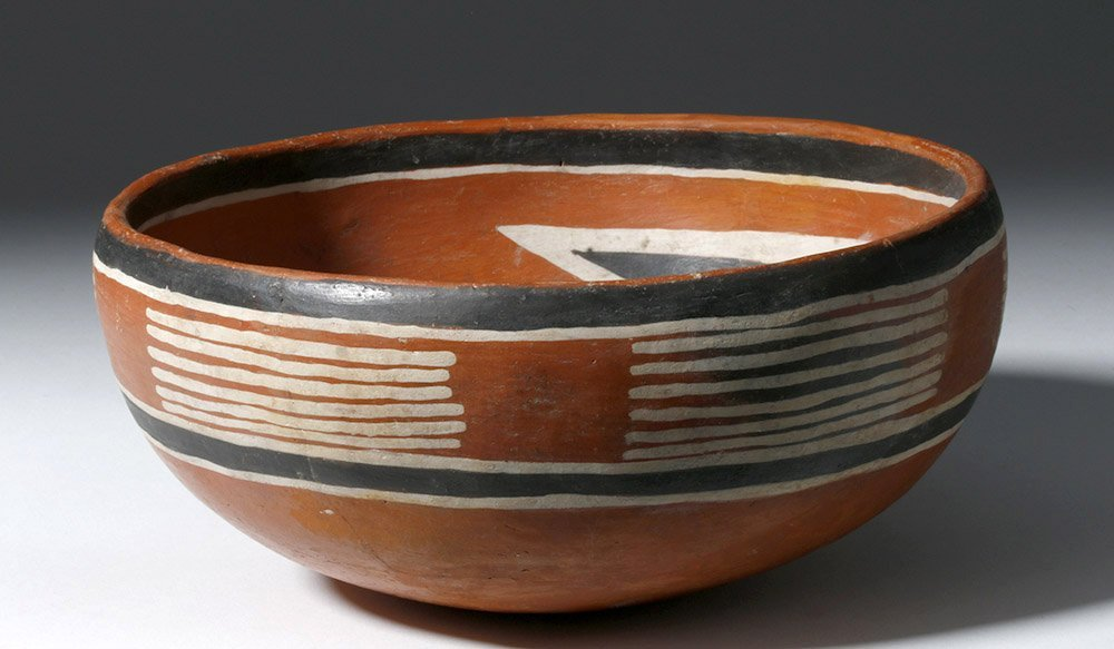 Anasazi Fourmile Polychrome Bowl w/ Insect - 3