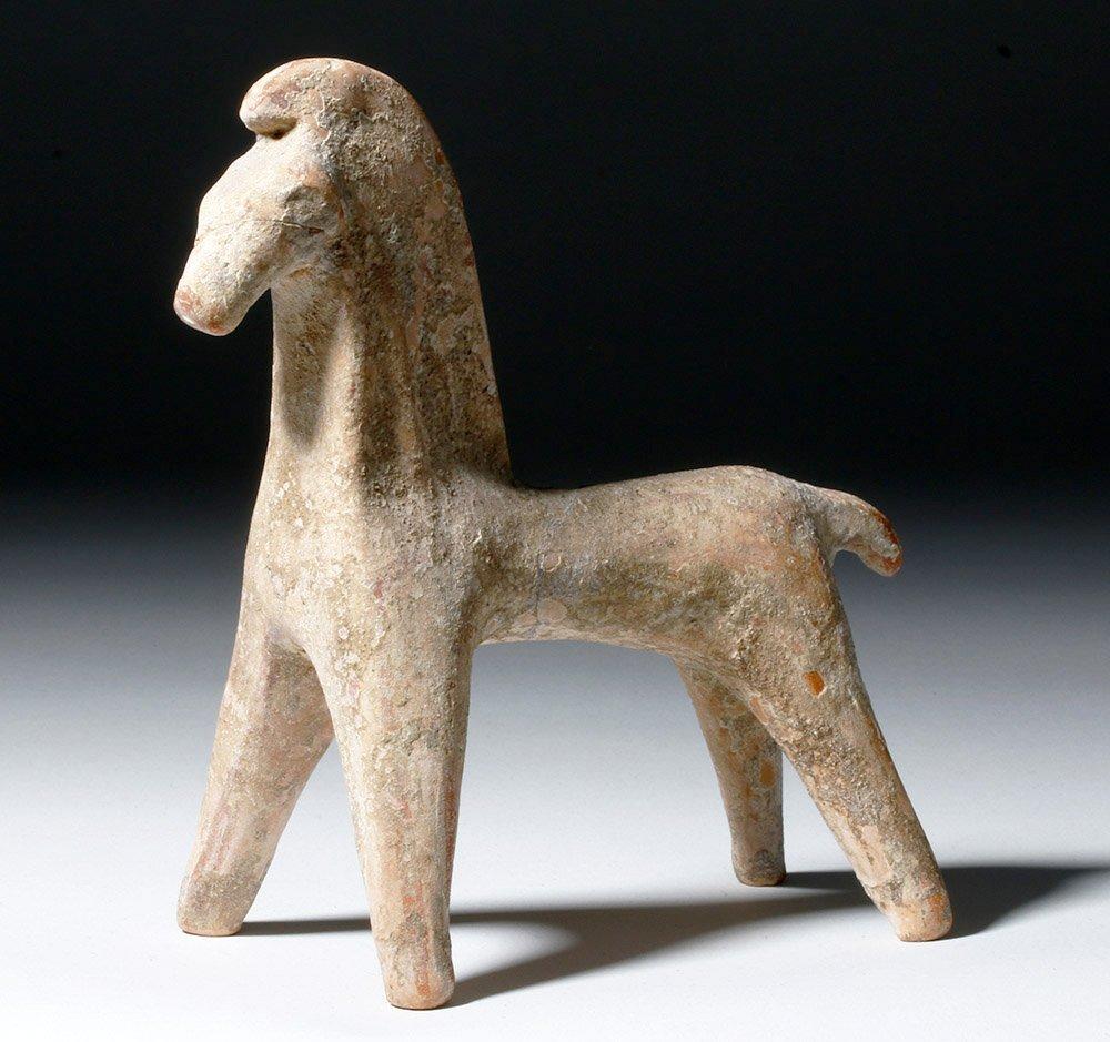 Greek Boeotian Pottery Horse - Ex Arnovick