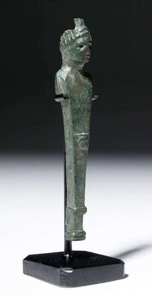 Roman Bronze Herm Pendant - 4