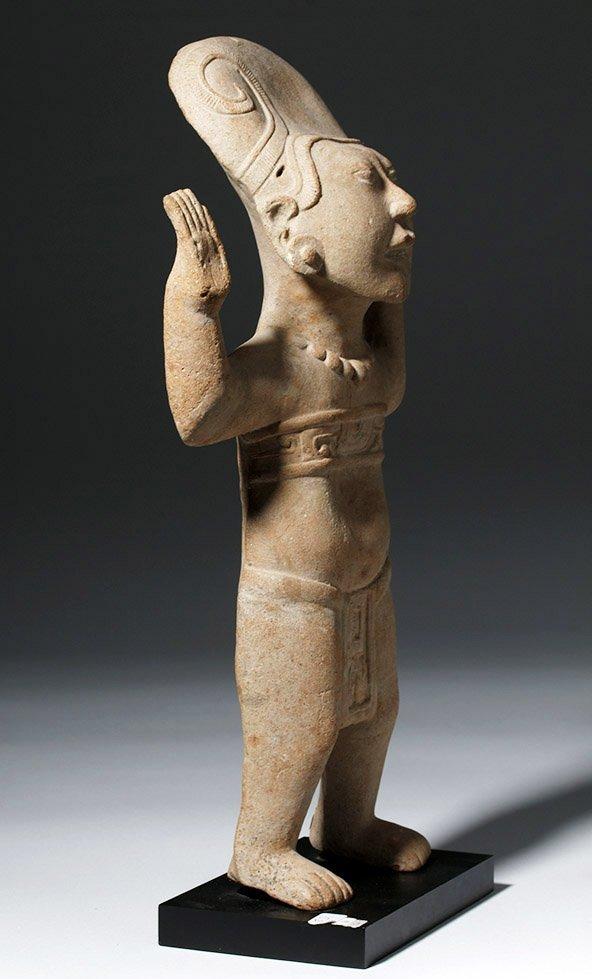 Large & Fine Veracruz Pottery Standing Sonriente - 3