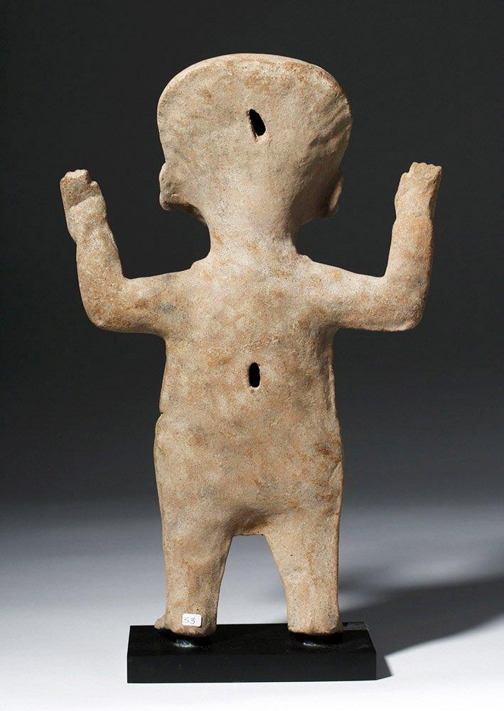 Large & Fine Veracruz Pottery Standing Sonriente - 4