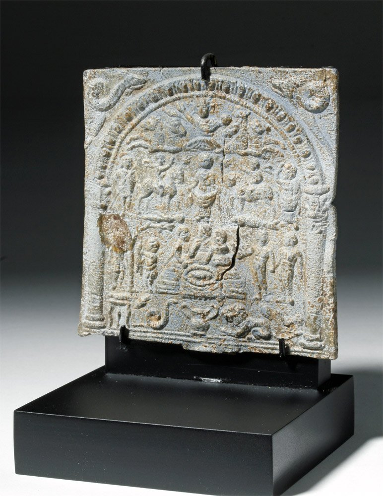 Roman Lead Mystery Cult Plaque - 3