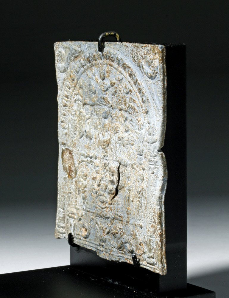 Roman Lead Mystery Cult Plaque - 4