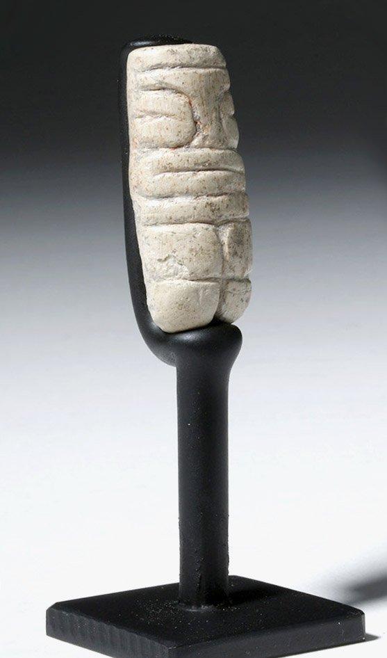 Rare & Fine Valdivian White Stone Venus Figure - 4