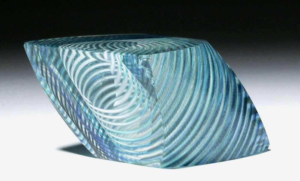 Gorgeous Correia Art Glass Paperweight, James Caswell