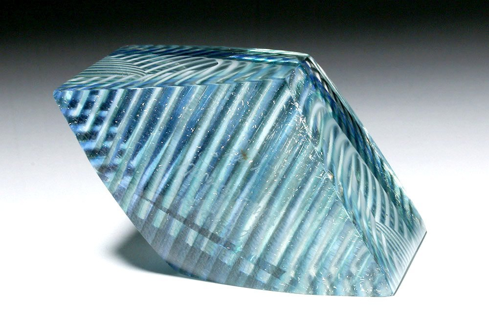 Gorgeous Correia Art Glass Paperweight, James Caswell - 4