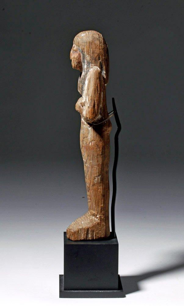 Egyptian Wooden Shabti - 19th Dyn, Ex-Sotheby - 2