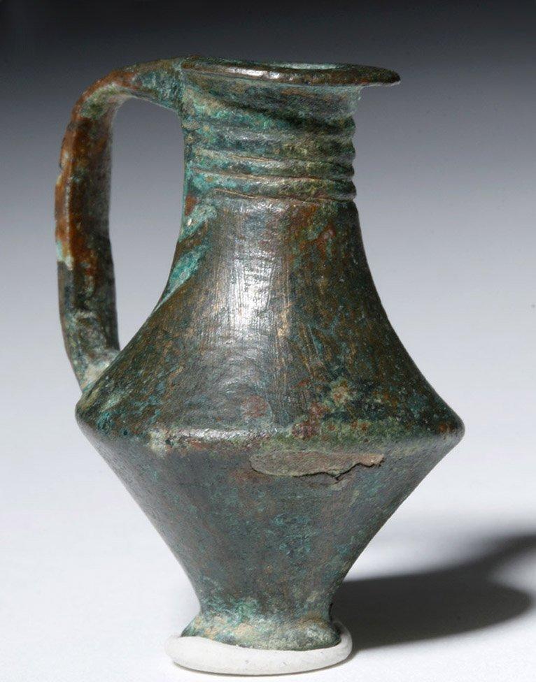 East Greek Bronze Votive Oinochoe