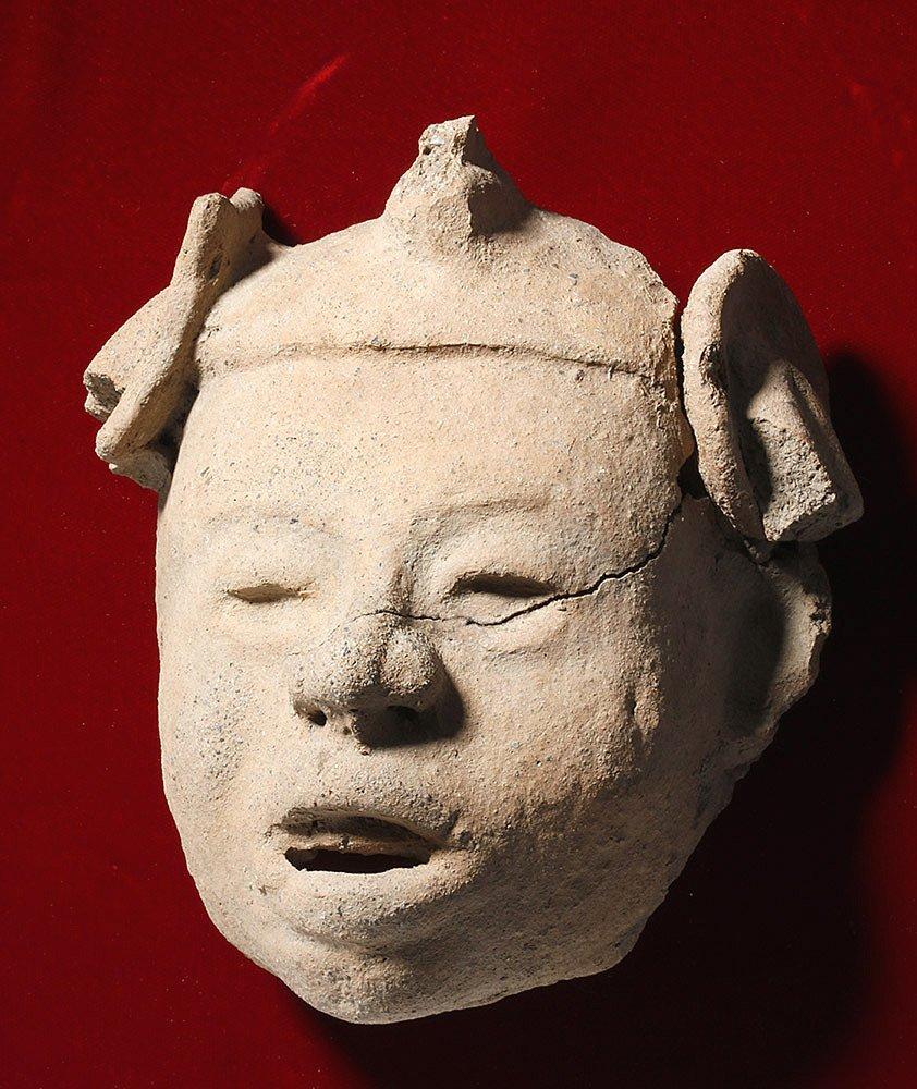 Veracruz Pottery Head on Frame - 2
