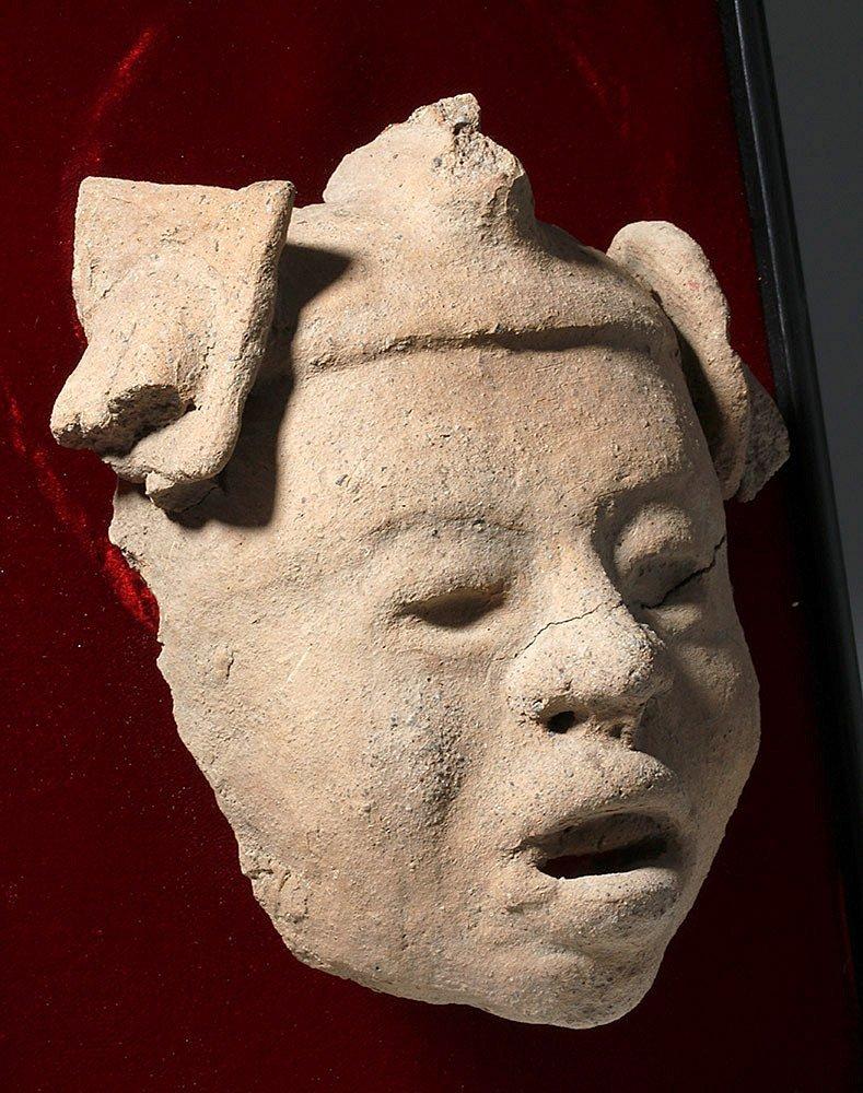Veracruz Pottery Head on Frame - 3