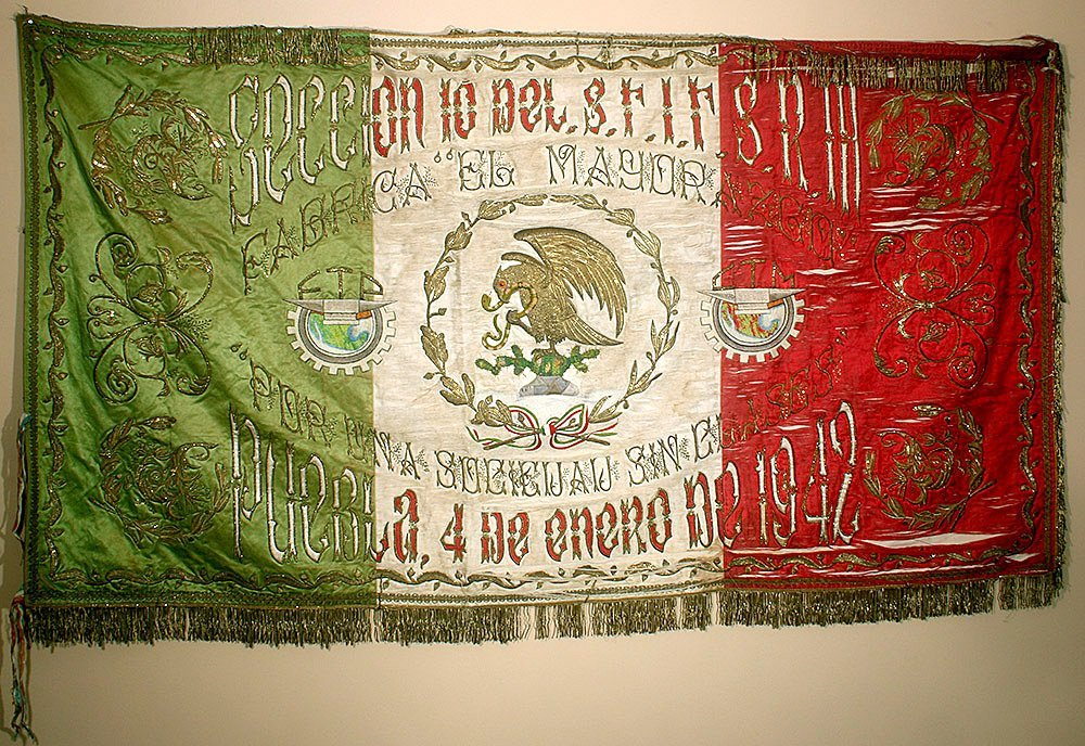 Post-Revolution Mexican Mayorazgo Flag - Labor Rights