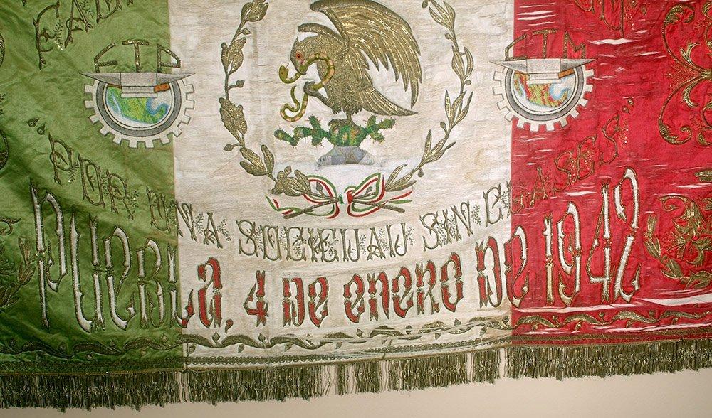 Post-Revolution Mexican Mayorazgo Flag - Labor Rights - 6