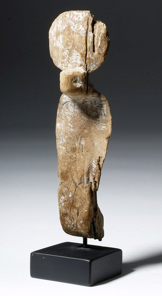 Fine Egyptian Wooden Uraeus